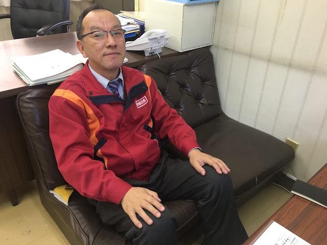 (株)八木又商店 吉田常務取締役